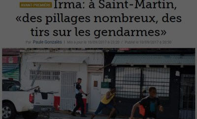 Saint-Martin, c'est ça le survivalisme…