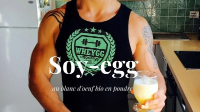 Le Soy-egg au blanc d'oeuf bio