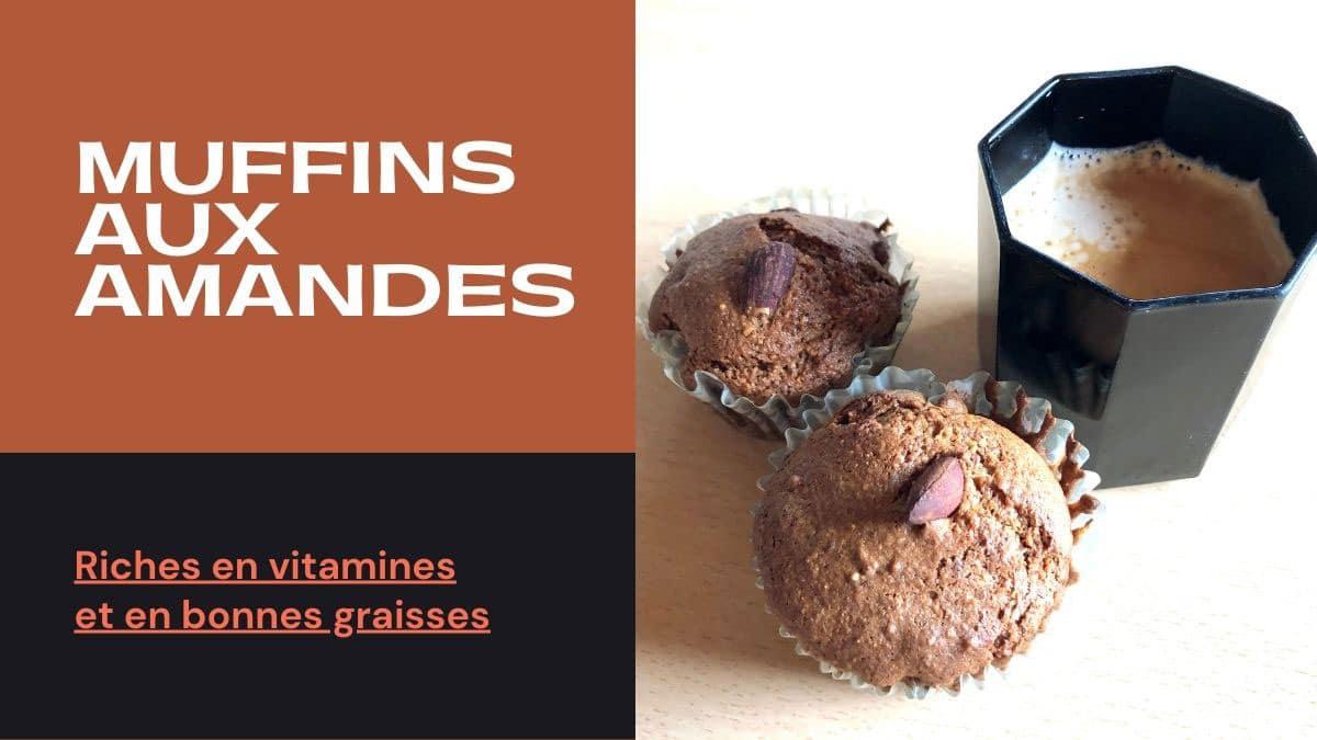 Muffin aux amandes biologiques