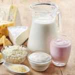produits laitiers en collation