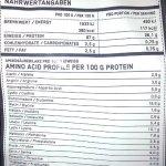 ESN Micellar Casein 2x Sachet de 1000g–Goût: Raspberry + Noisette = 2kg