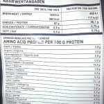 ESN Micellar Casein Sachet de 2x 1000g–Goût: Strawberry + Strawberry = 2kg