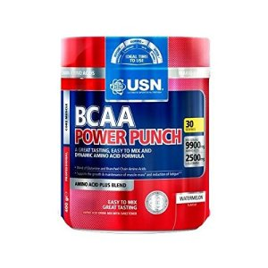(LOT DE 6) – USN – BCAA Power Punch Watermelon | 400g | LOT DE 6