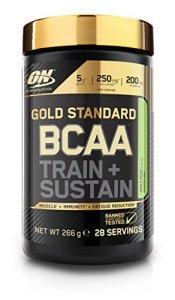 OPTIMUM NUTRITION ON GS BCAA Train & Sustain Pomme – Poire 266 g