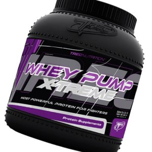 Whey Pump Extreme 1800g (biscuit) – Most Powerful Protein Ever – Whey protein concentrate en-hanced with a considerable dose of creatine and AAKG – Fast recovery and more energy – Trec Nutrition by MagicSupplements