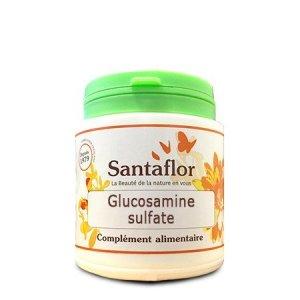 Santaflor – Glucosamine sulfate poudrePot de 100 g de poudre
