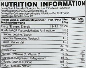 Optimum Nutrition ON GS BCAA Train & Sustain Framboise – Grenade 266 g