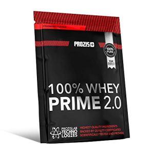 Prozis 100% Whey Prime 2.0 25g – 21g de Protéine en Poudre per Dose Enrichi en Créatine, en BCAA et en L-Glutamine – Goût Pain Perdu – Augmente la Force, l'Énergie et la Croissance Musculaire