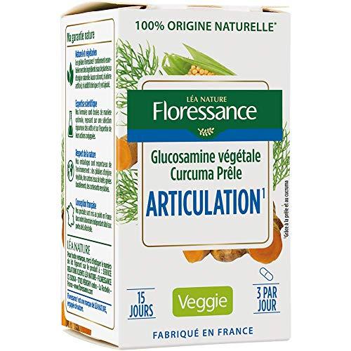 Floressance Gélule Végétale Articulations Glucosamine Curcuma Prêle
