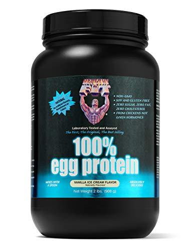 Healthy 'n Fit 100% Egg Protein, Vanilla Ice Cream, 2-pound Bottle