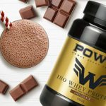 POWST Premium ISO Whey Proteines Chocolate 1000g.