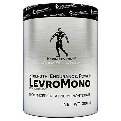 KEVIN LEVRONE LEVROMONO 300g – Monohydrate de créatine Premium – Force Power Energy – Complément alimentaire anabolisant
