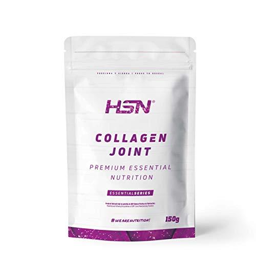 Collagen Joint Health by HSN | Formule avec glucosamine + chondroïtine + MSM + extrait de curcuma + Boswellia Serrata + poivre noir | Végétalien, sans gluten, aromatisé à la cerise, 150g