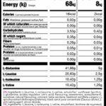 K BCAA 2:1:1 Glutamine Berry Chill 600GR Acides aminés Performance