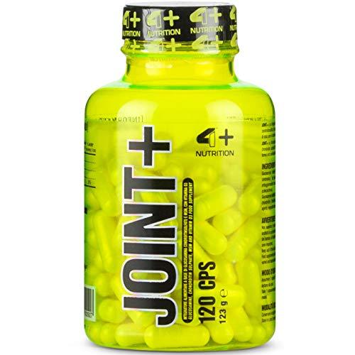 4 Sport Nutrition Joint+ Paquet de 1 x 120 Capsules – Sulfate de Glucosamine – Chondroïtine – Méthylsulfonylméthane – MSM – Vitamine D3 – Articulation – Os – Supplément pour Athlètes