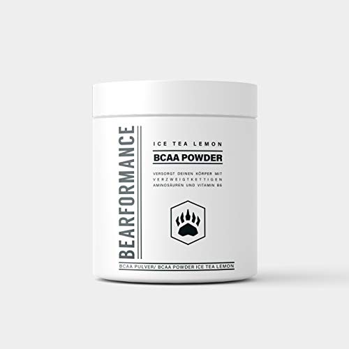 Bearformance BCAA Poudre (Ice Tea Lemon)