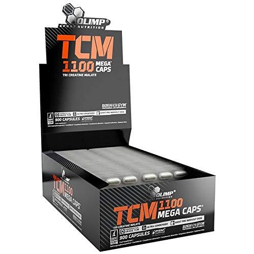 TCM – Malate de tri créatine | Pilules de musculation pour la croissance de la masse musculaire | Anabolisants et anticataboliques | Blisters seulement – pas de boîte (150 gélules)