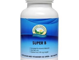 Nature's SunShine Super B vitamin