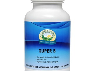 Nature's SunShine Super B vitamin