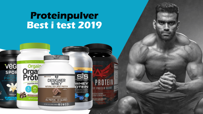 proteinpulver 2019 best i test
