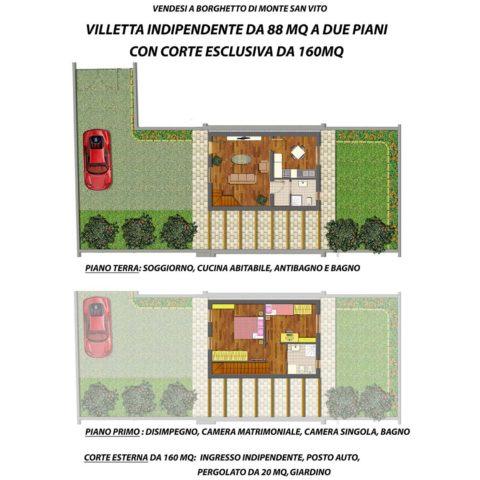 Casa singola a Monte San Vito