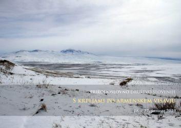 Naslovnica prospekt Zimska Armenija