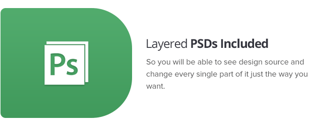 Layered PSDs Included