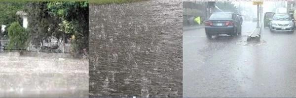 RAIN LASHED LAHORE