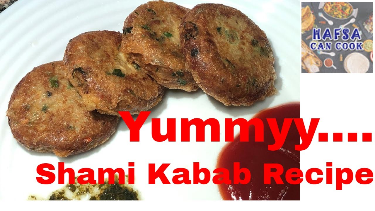 Fastest Chicken Shami Kabab Recipe in Urdu Hindi