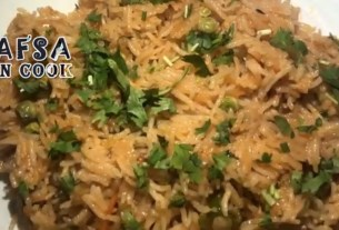 Easy And Delicious Mutter Pualo Recipe