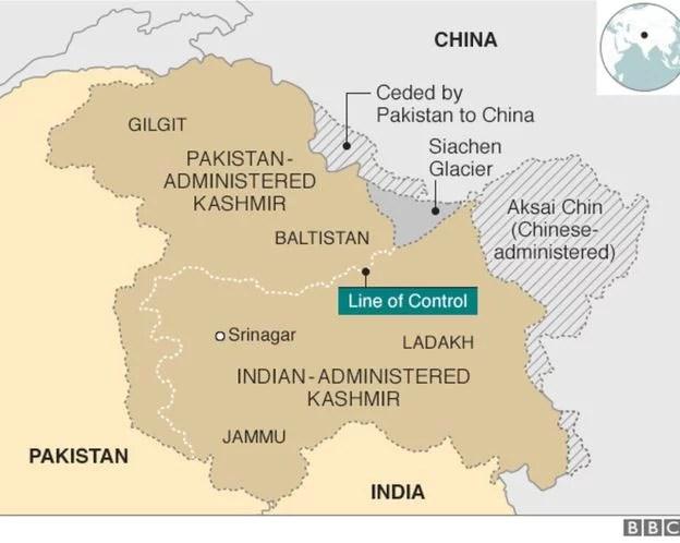 Kashmiris and Pakistanis