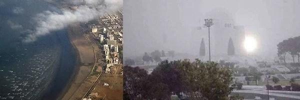 strong winds in Karachi
