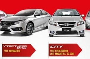 Honda Pakistan offers a massive discount