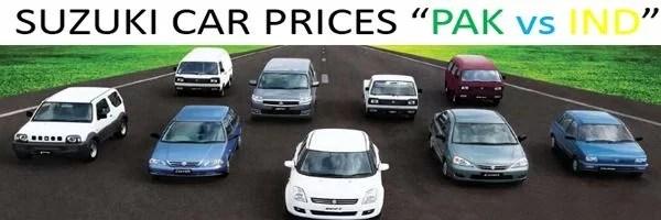 Pakistan Cars vs Indian Cars