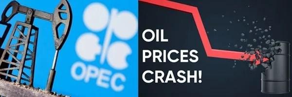 US oil market bloodbath