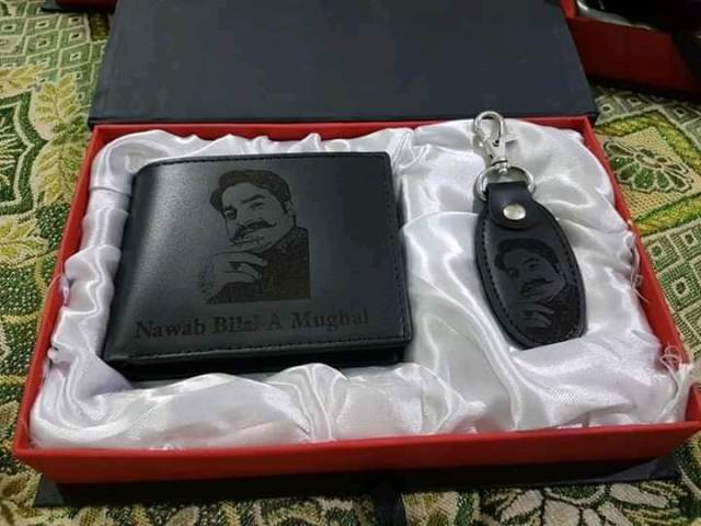 Customized Wallet & Key-chain Set