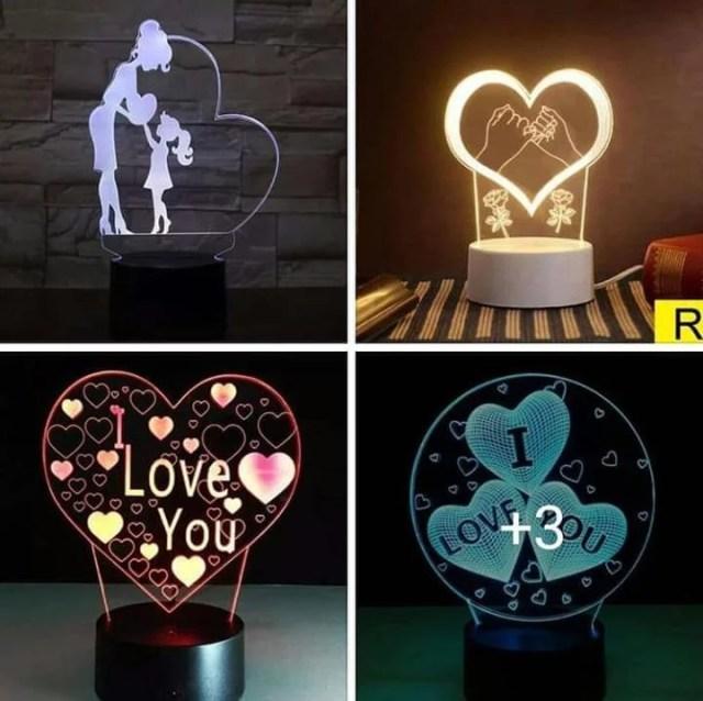 Customized 3D illusion LED lamp