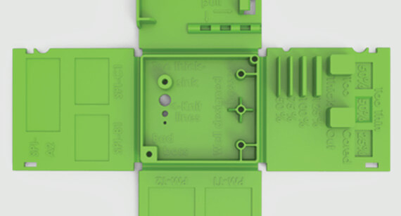 Features that make stronger molded parts on Design Cube