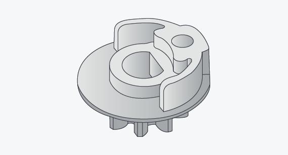 Illustration of drive shaft part