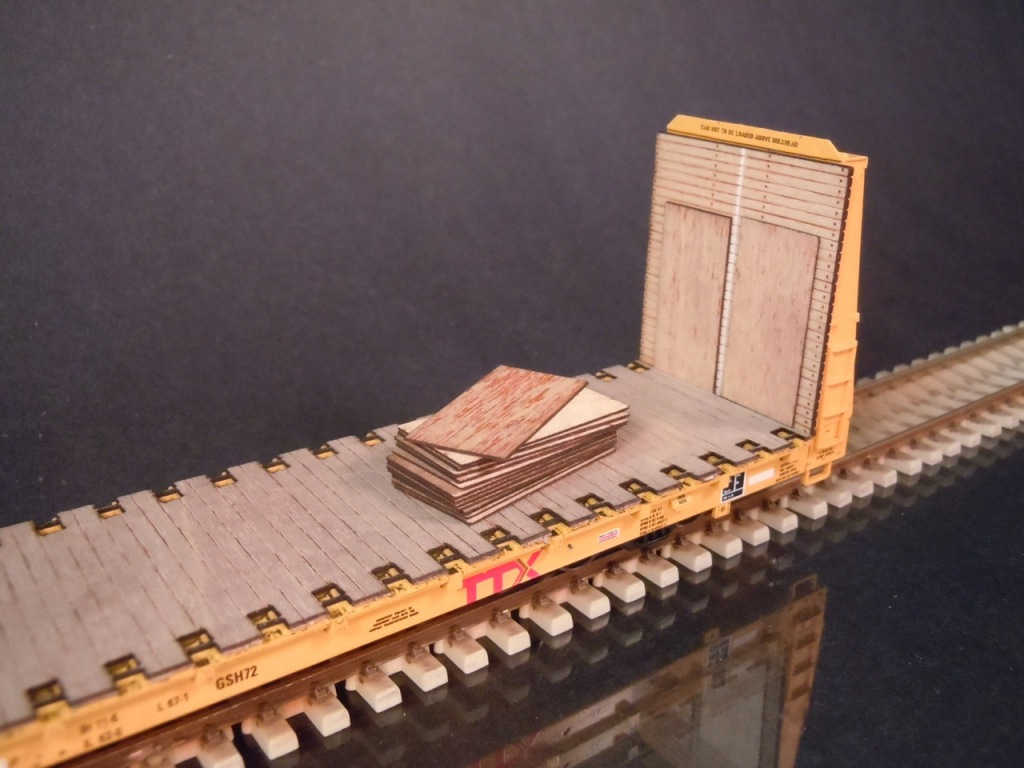 Ho Scale 4 X8 Sheets Of Plywood Protoloads