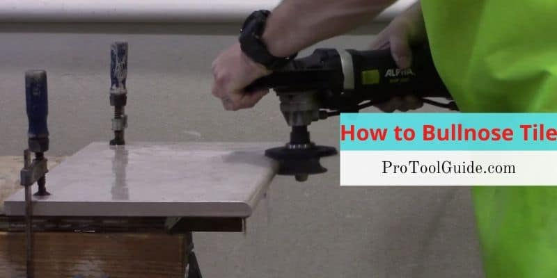 how to bullnose tile small large