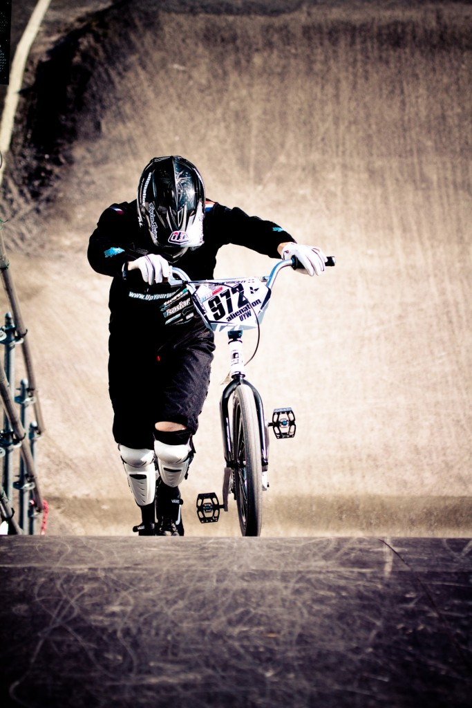 Thomas Hamon à Lumbres, BMX supercross.