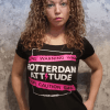 Angelique met Rotterdam T-shirt Rotterdam Attitude Voorkant