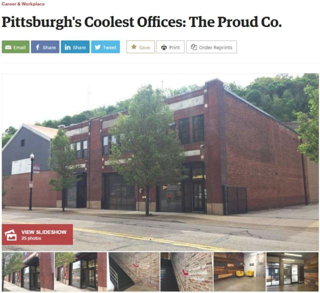 Pittsburgh's Coolest Offices