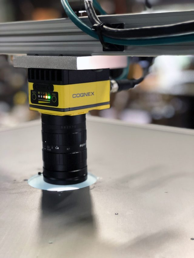 Cognex benchtop inspection system