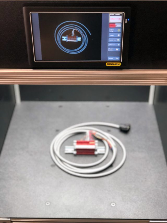 benchtop inspection systems with cognex plc