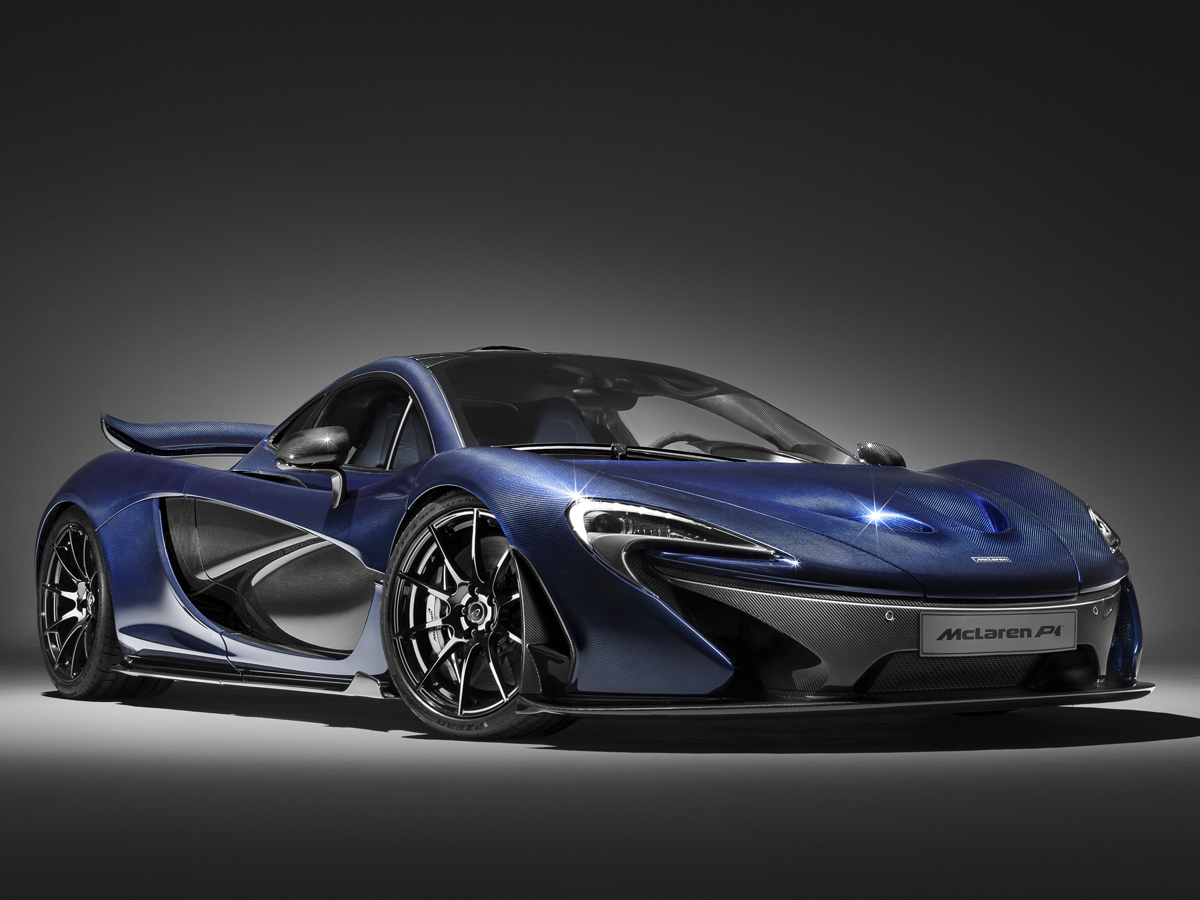 mclaren-p1 karbonfaser look design kohlefaser sportwagen modelle