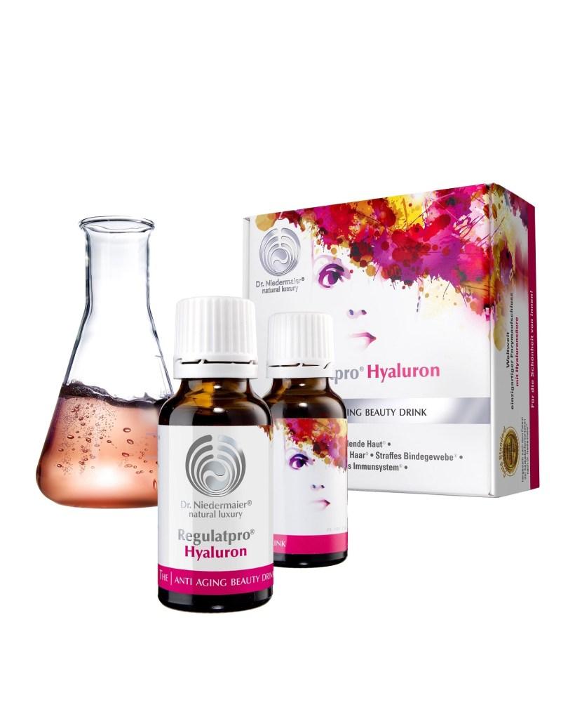 Regulatpro Hyaluron pusht die Haut von innen