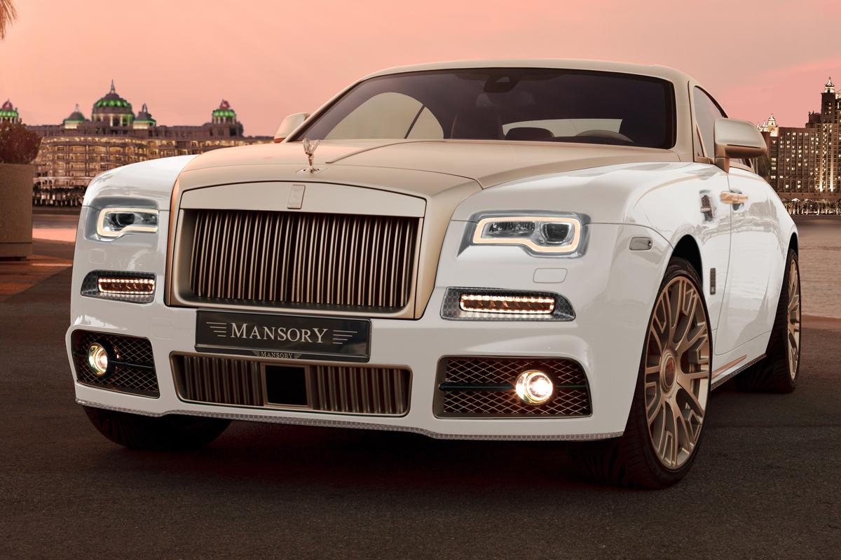 mansory rolls-royce wraith veredelung luxus limitiert coupé interieur