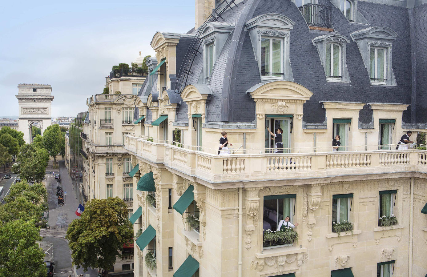 Aussenansicht, The Peninsula Paris